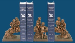 Secret Tree Bookends With Kids