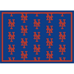 New York Mets Repeat Logo Area Rug