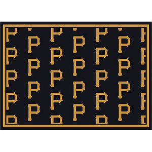Pittsburgh Pirates Repeat Logo Area Rug