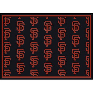 San Francisco Giants Repeat Logo Area Rug
