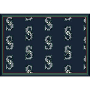 Seattle Mariners Giants Repeat Logo Area Rug