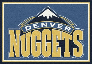 Denver Nuggets Team Logo Area Rug
