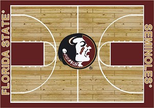 Florida State Seminoles Home Court Area Rug