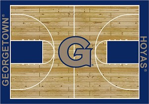 Georgetown Hoyas Home Court Area Rug