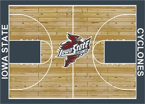 Iowa State Cyclones Home Court Area Rug