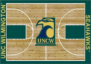 UNC Wilmington Seahawks Home Court Area Rug