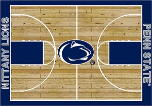 Penn State Nittany Lions Home Court Area Rug