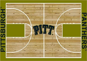 Pittsburgh Panthers Home Court Area Rug