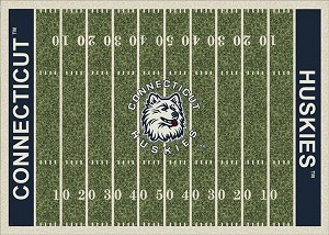 Connecticut Huskies Home Field Area Rug