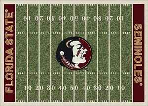 Florida State Seminoles Home Field Area Rug