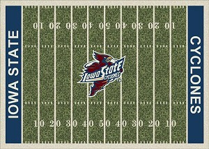 Iowa State Cyclones Home Field Area Rug