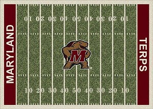 Maryland Terrapins Home Field Area Rug
