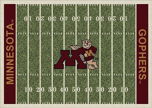 Minnesota Golden Gophers Home Field Area Rug