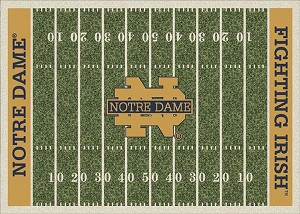 Notre Dame Fighting Irish Home Field Area Rug