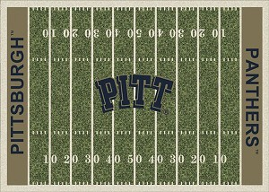 Pittsburgh Panthers Home Field Area Rug