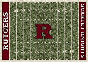 Rutgers Scarlet Knights Home Field Area Rug