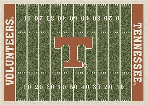 Tennessee Volunteers Home Field Area Rug