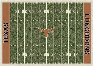 Texas Longhorns Home Field Area Rug