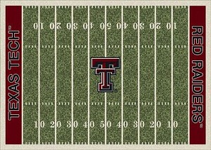 Texas Tech Red Raiders Home Field Area Rug