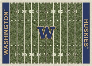 Washington Huskies Home Field Area Rug
