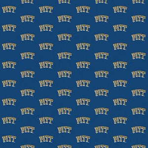 Pittsburgh Panthers Repeat Logo Area Rug