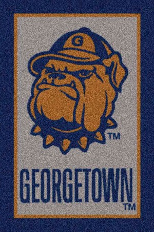 Georgetown Hoyas Alternate Team Logo Area Rug