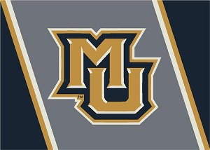 Marquette Golden Eagles Team Logo Area Rug