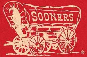 Oklahoma Sooners Alternate Team Logo Area Rug
