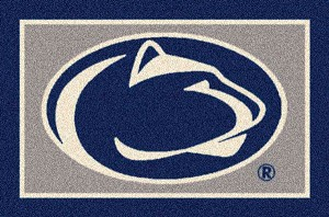 Penn State Nittany Lions Team Logo Area Rug