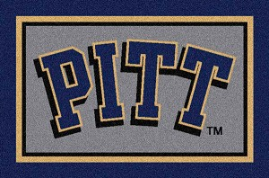 Pittsburgh Panthers Team Logo Area Rug