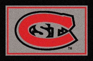 St Cloud State Huskies Team Logo Area Rug