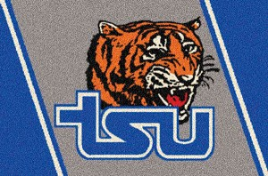 Tennessee State Tigers Team Logo Area Rug