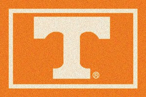 Tennessee Volunteers Team Logo Area Rug