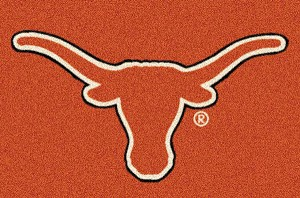 Texas Longhorns Alternate Team Logo Area Rug