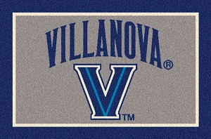 Villanova Wildcats Team Logo Area Rug