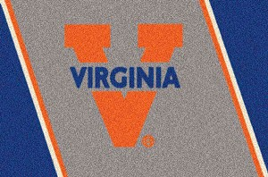 Virginia Cavaliers Team Logo Area Rug
