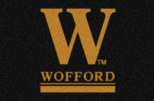 Wofford Terriers Team Logo Area Rug