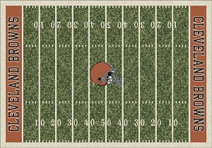 Cleveland Browns Home Field Area Rug