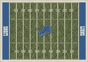 Detroit Lions Home Field Area Rug