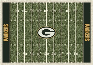 Green Bay Packers Home Field Area Rug