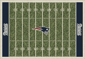 New England Patriots Home Field Area Rug