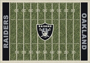 Oakland Raiders Home Field Area Rug