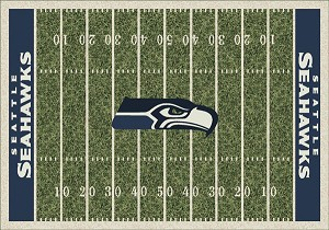Seattle Seahawks Home Field Area Rug