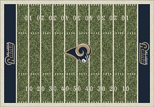 St Louis Rams Home Field Area Rug