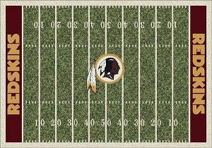 Washington Redskins Home Field Area Rug