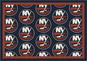 New York Islanders Repeat Logo Area Rug