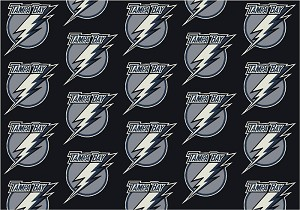 Tampa Bay Lightning Repeat Logo Area Rug