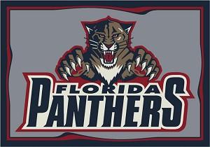 Florida Panthers Team Logo Area Rug