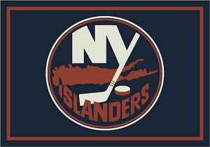 New York Islanders Team Logo Area Rug