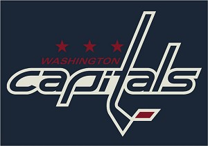 Washington Capitals Team Logo Area Rug